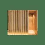 Lamele ścienne drewniane