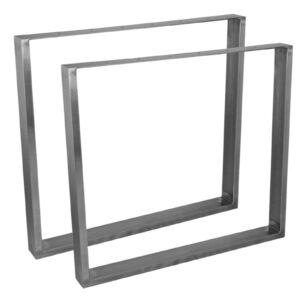 podstawa metalowa ramka srebrna