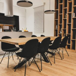 industrialny stół dębowy samidare