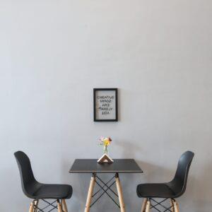 krzesło kerala czarne