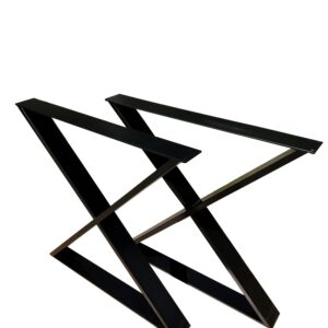 podstawa metalowa x czarna