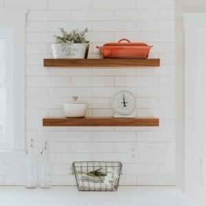 półka drewniana catrina