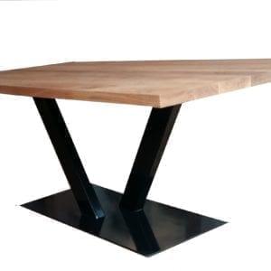 minimalistyczny stół dębowy estienne