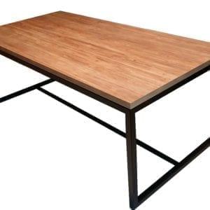 minimalistyczny stół dębowy lundy