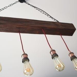 wisząca lampa rustykalna aliyah
