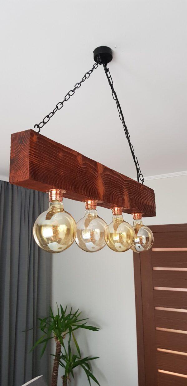 wisząca lampa rustykalna marco