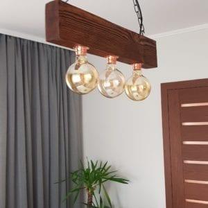 wisząca lampa rustykalna jenny