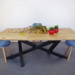stół chelsea, dębowy stół, stół olejowany, naturalny stół dębowy, stół nowoczesny