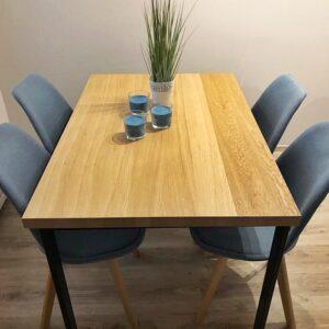 stół dębowy fornirowany berlin