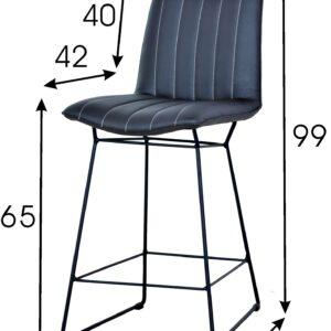 krzesło barowe hoker