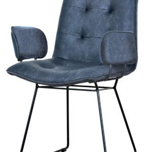 krzesło do jadalni granatowe bari