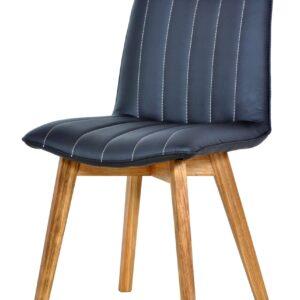 krzesło do jadalni granatowe