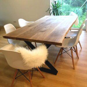 stół dębowy 180x90