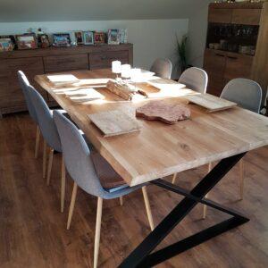 stół dębowy anglet 260x100