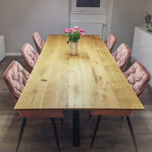 stół dębowy do jadalni