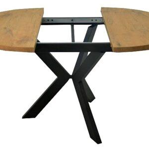 stół rozkładany okrągły dąb halifax