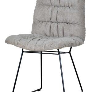 szare krzesło tapicerowane felix