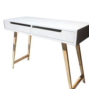 biurko z szufladami blanco