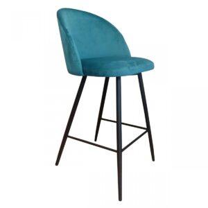krzesło barowe turkusowe vito