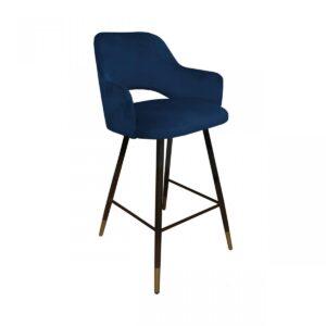 krzesło hokerowe granatowe milano