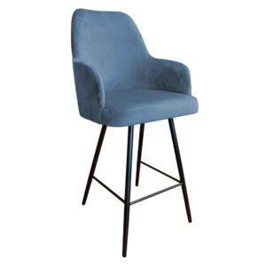 krzesło hokerowe niebieskie west