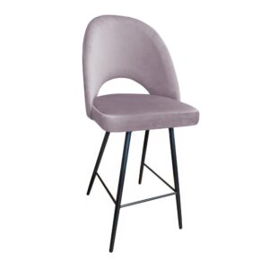 krzesło hokerowe różowe polo