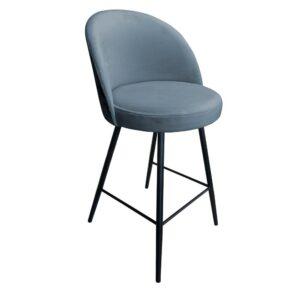 krzesło hokerowe szare trix