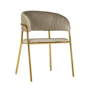 krzesło do jadalni beżowe