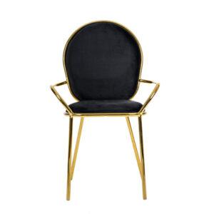 krzesło muneca czarne