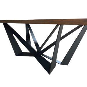 noga do stołu skorpion czarna
