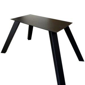 noga do stołu metalowa czarna