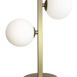lampa stojąca mosiężna