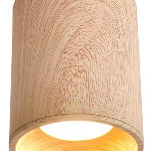 lampa natynkowa drewniana