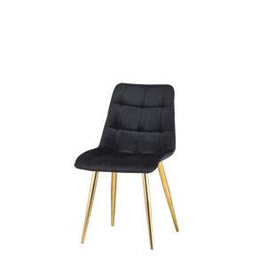 krzesło do jadalni czarne