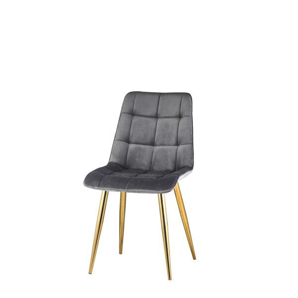 szare krzesło do jadalni