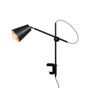 Lampka biurkowa z uchwytem Arte Black