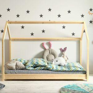Łóżko domek dziecięce sosnowe Bella