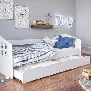Łóżko białe dziecięce Kacper
