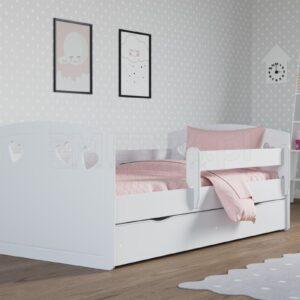 Łóżko białe dziecięce Julia