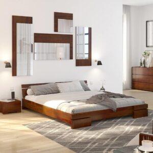 Łóżko drewniane sosnowe Wood