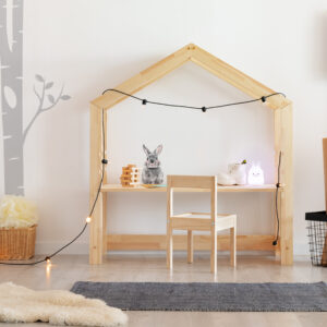 Biurko domek drewniane dziecięce