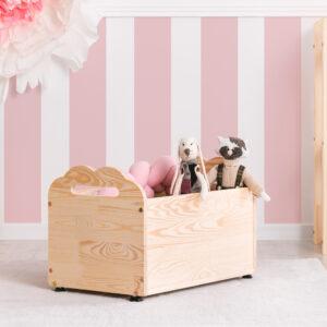 Skrzynia na zabawki dziecięca drewniana Toy III