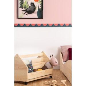 Skrzynia na zabawki dziecięca drewniana Toy II