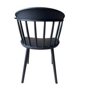 krzesło czarne plastikowe