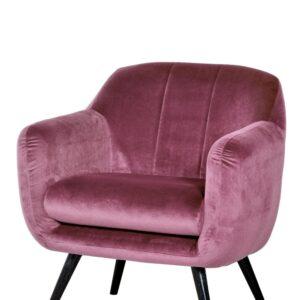 fotel różowy cobo