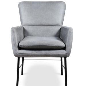 fotel do salonu szary
