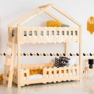 Łóżko dziecięce piętrowe Zippo B