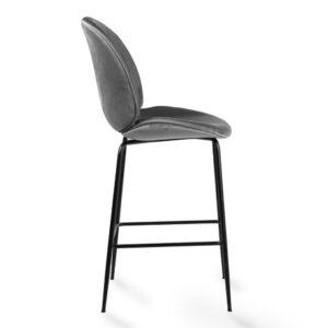 krzesło hokerowe szare