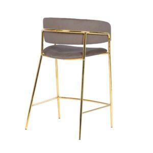 krzesło hokerowe beżowe