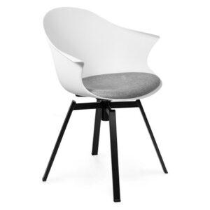 krzesło do jadalni białe